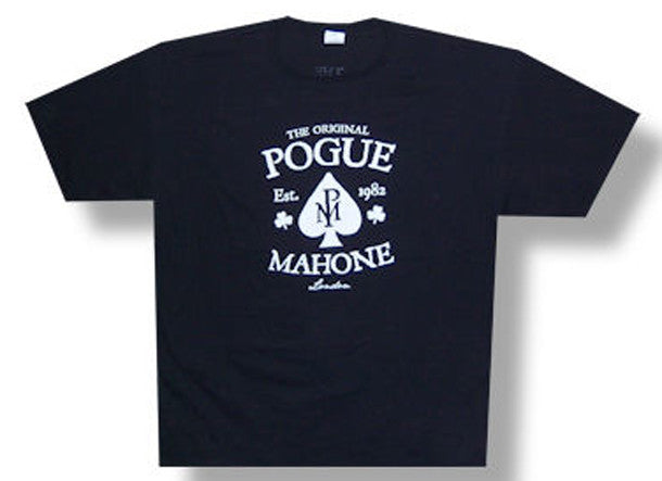 The Pogues Pgue Mahone 2011 tour t-shirt