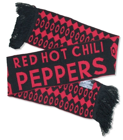 Red Hot Chili Peppers -Logo - 100% Wool Winter Scarf
