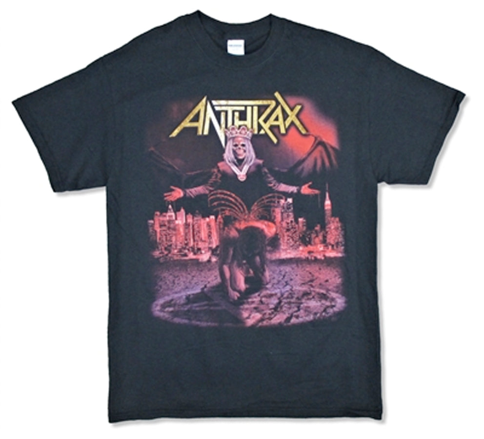 Anthrax - Bloody Wings 2017 Tour - Black T-shirt