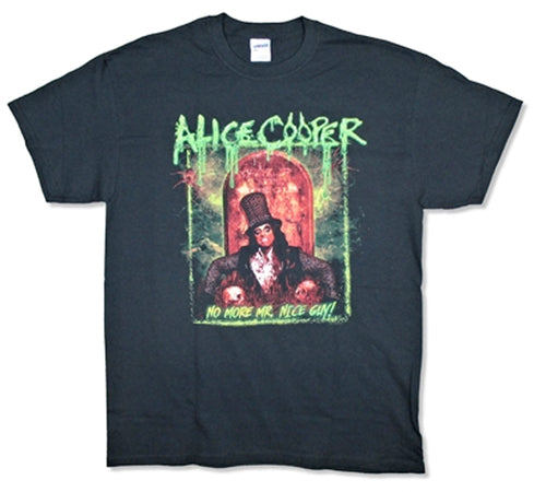 Alice Cooper - No More Mister Nice Guy 2015 Tour - Black T-shirt