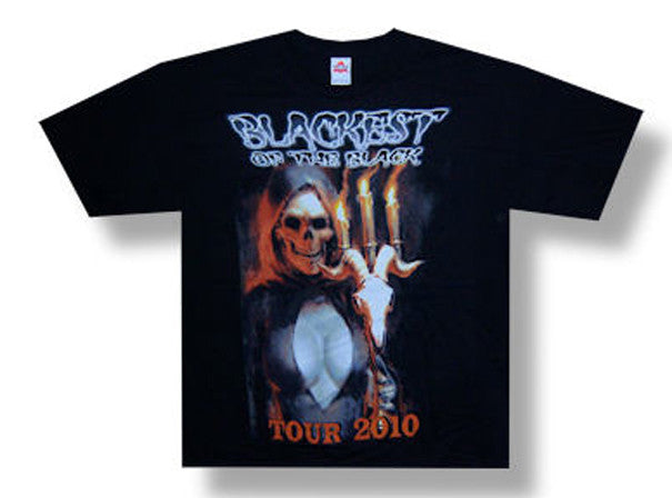 Danzig Blackest of the Black Tour t-shirt