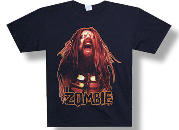 Rob Zombie The Scream Hell On Earth Tour Black t-shirt
