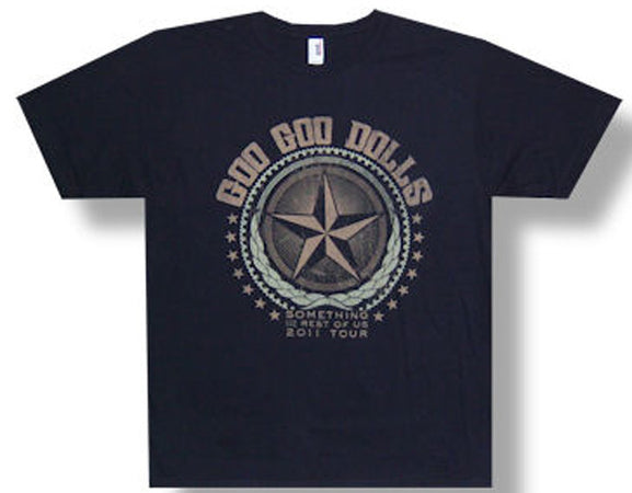 Goo Goo Dolls Star 2011 Tour t-shirt