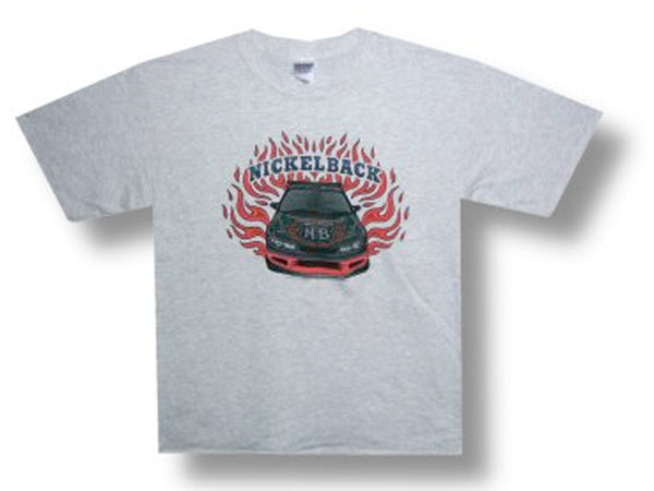 Nickelback - Flames - Ash Grey t-shirt