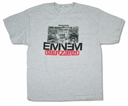 Eminem - Boom Box - Grey  t-shirt