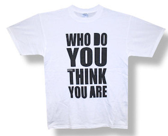 The Spice Girls Who Do You Think You Are White t-shirt