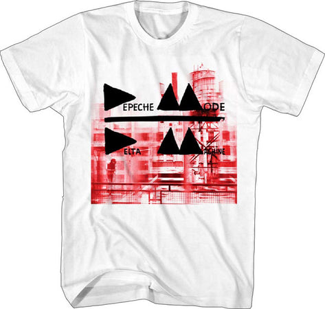 Depeche Mode Delta Machine White  t-shirt