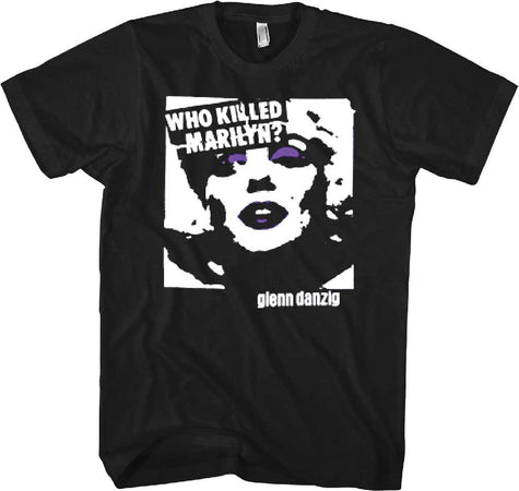 Danzig Who Killed Marilyn Black t-shirt