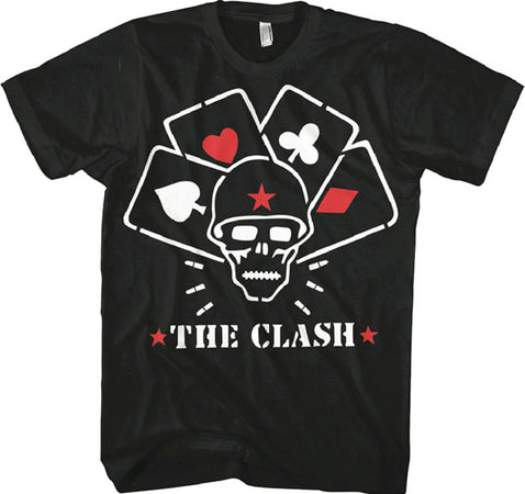 The Clash Straight to Hell Black T-shirt