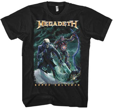 Megadeth - Vic Cannister - Black t-shirt