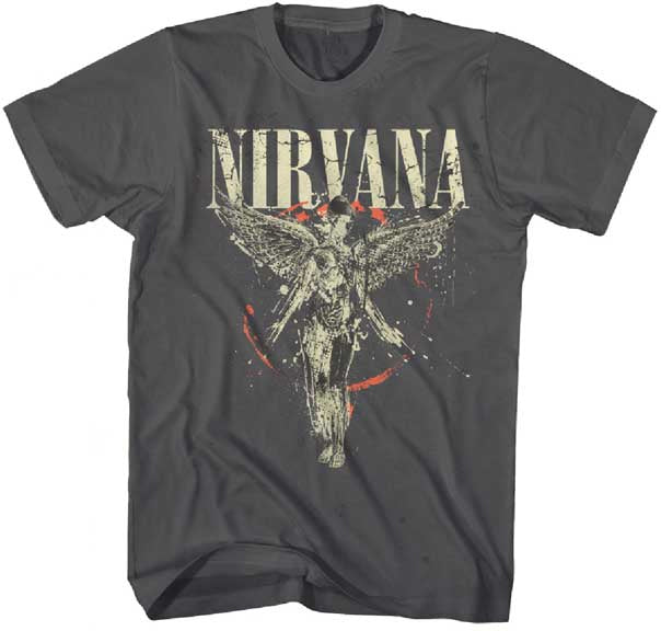 Nirvana-Galaxy-In Utero-Asphalt t-shirt