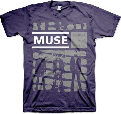 Muse-One Shade of Grey-Navy t-shirt