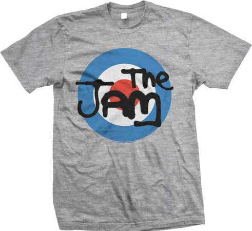 The Jam-Target Logo-Grey t-shirt