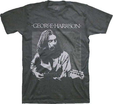 George Harrison - Live Portrait - Black t-shirt