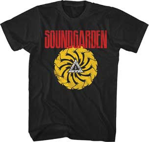 Soundgarden  Bad Motor Finger Black t-shirt
