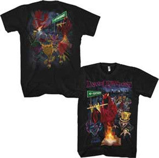 Insane Clown Posse Gathering Street-Black t-shirt