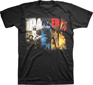 Pantera Collage Black t-shirt