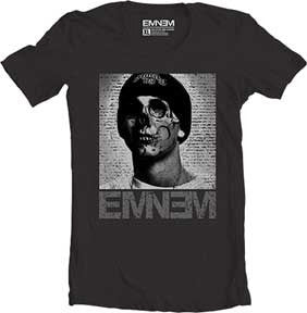 Eminem-Skull Face Black t-shirt