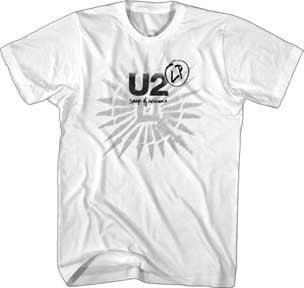 U2 Sons Of Innocence White Soft Cotton t-shirt