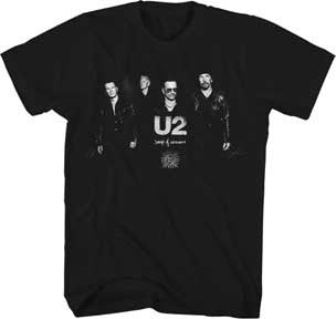U2 Sons Of Innocence Black Soft Cotton t-shirt