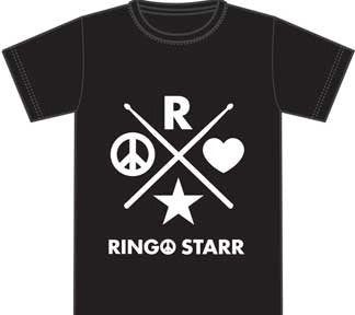Ringo Starr 2015 Icons Black t-shirt