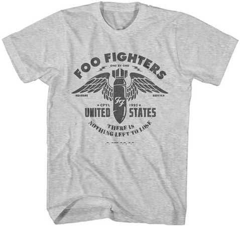 Foo Fighters - Nothing Left To Lose - Heather Gray Lightweight t-shirt