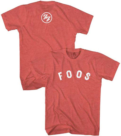 Foo Fighters - Foos Logo - Heather Red Men's lightweight t-shirt