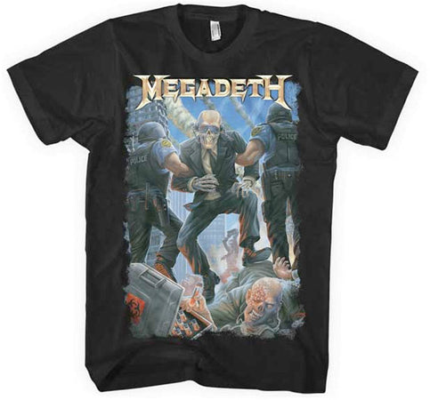 Megadeth - Vic Taken Away - Black t-shirt