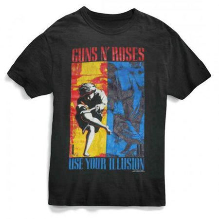 Guns N Roses - 1991 Illusion Combo - Black t-shirt