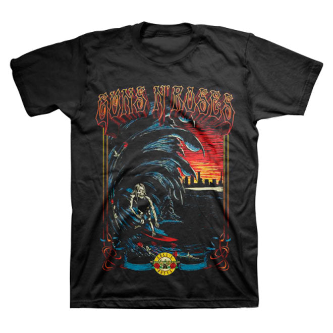 Guns N Roses -  Surf - Black t-shirt