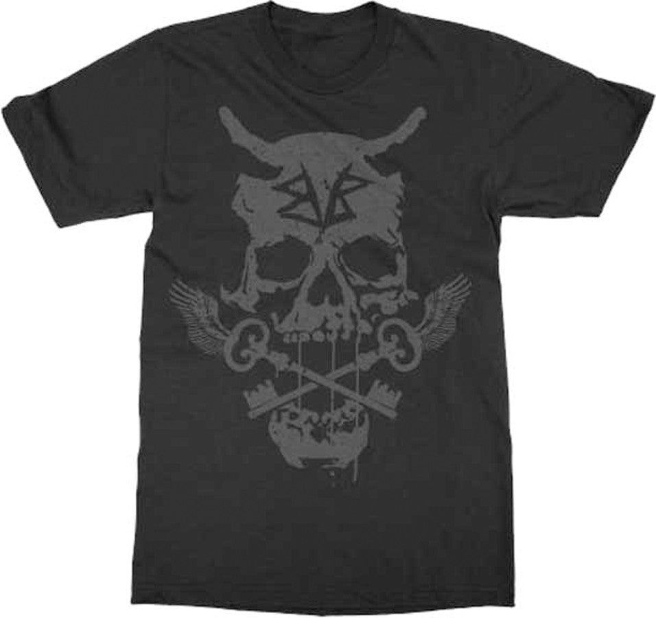 Black Veil Brides Skull Keys-Black t-shirt