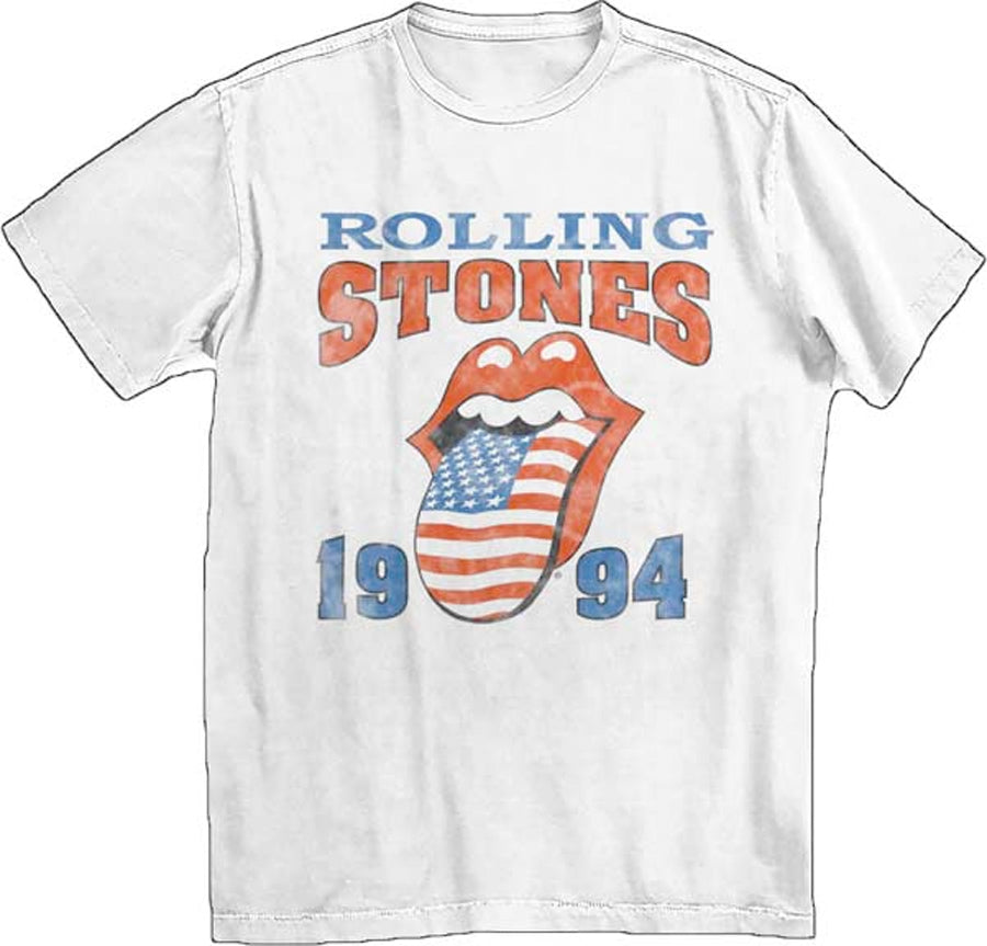 The Rolling Stones-1994 White t-shirt