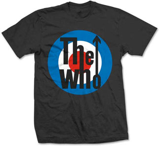 The Who - Classic Target - Black t-shirt