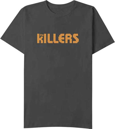 The Killers Orange Logo-Black t-shirt