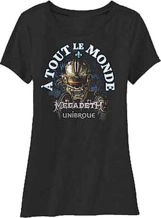 Megadeth - A Tout Le Monde - Girl's Junior T-shirt