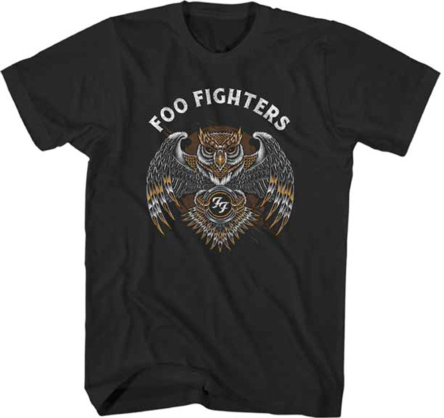Foo Fighters - Owl- Black Lightweight t-shirt