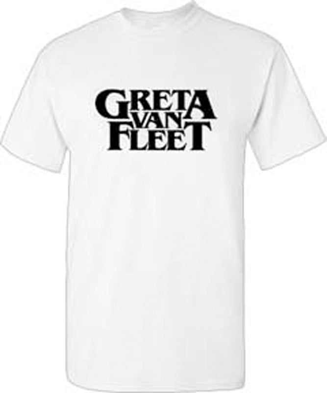 Greta Van Fleet - Logo - White t-shirt