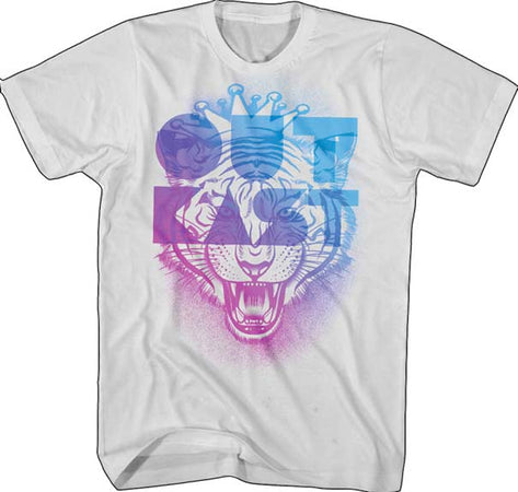 Outkast - Tiger - Silver T-shirt
