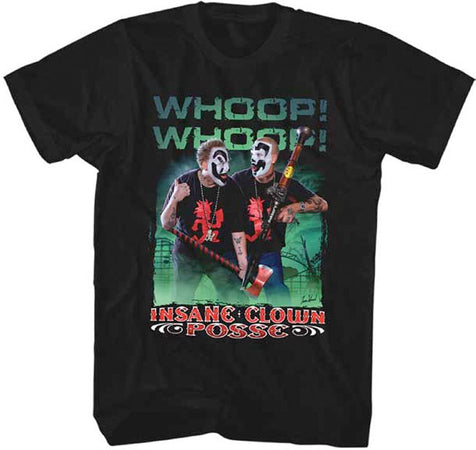 Insane Clown Posse-ICP-Whoop Whoop-Black t-shirt