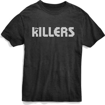 The Killers - Classic Logo - Black t-shirt