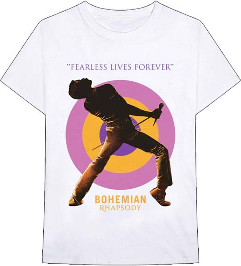 Queen - Fearless Lives Forever - White t-shirt