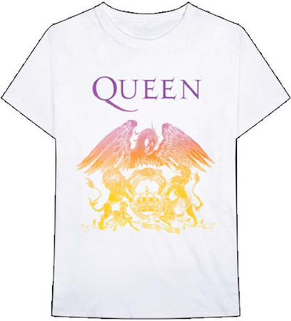 Queen - Crest - White t-shirt