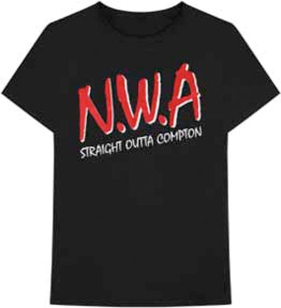 NWA - Straight Outta Compton - Black t-shirt