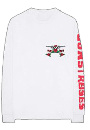 Guns N Roses - Hell Tour 1985 - Longsleeve White t-shirt