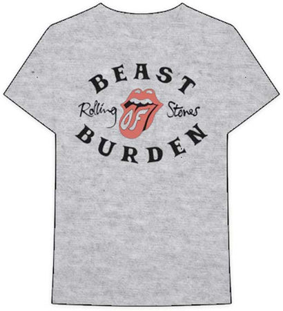 The Rolling Stones - Beast Of Burden - Heather Gray t-shirt