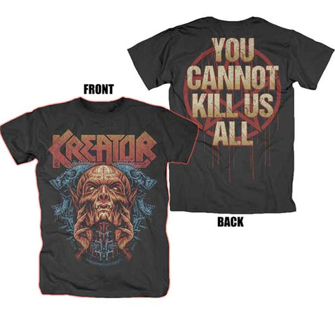 Kreator - You Cannot Kill Us All - Black t-shirt