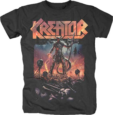 Kreator - Warrior - Black t-shirt