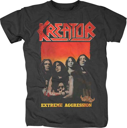Kreator - Extreme Aggression - Black t-shirt