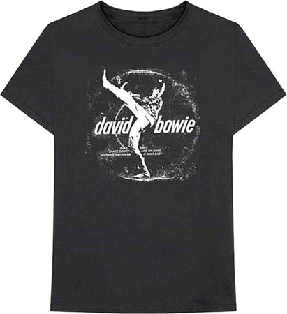 David Bowie - Vinyl-Space Oddity - Black t-shirt