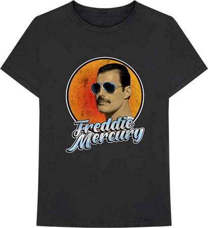 Queen - Freddie Mercury-Script - Black t-shirt